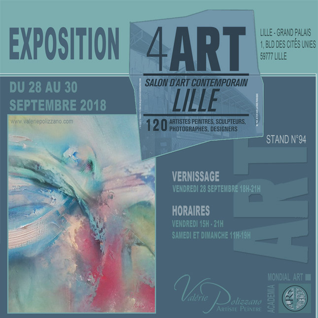 SALON D'ART CONTEMPORAIN - Lille
